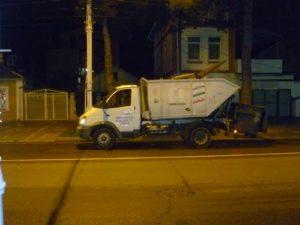Мини-мусоровоз TDS