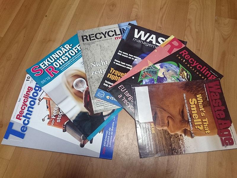 Журналы по управлению отходами