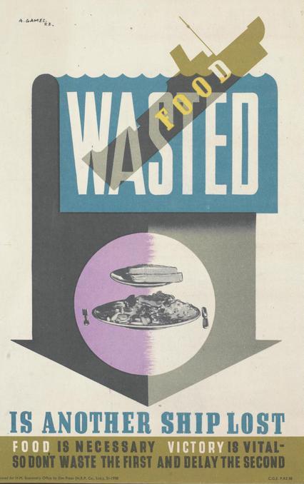 Выброшенная пища – это еще один потерянный корабль. Пища важна, победа – жизненно необходима. Перестаньте попусту тратить первое, и тем самым вы приблизите второе