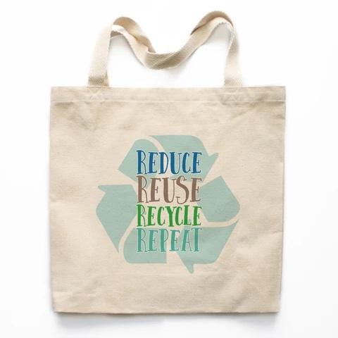 Холщевая сумка-авоська для покупок