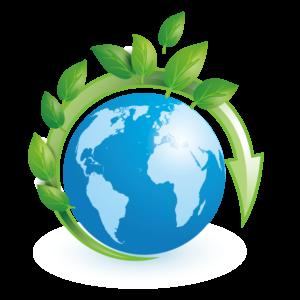 рециклинг снижает количество выбросов в атмосферу