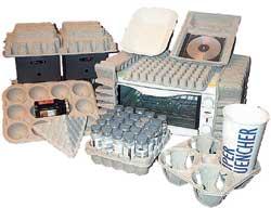 Изделия бумажного литья