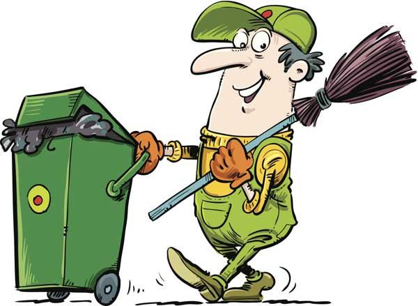 Убирать мусор