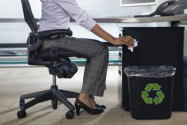 Утилизация офисного мусора