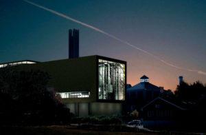 Мусоросжигательный завод в Уппсала Швеция