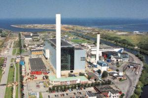 Мусоросжигательный завод SYSAV в Мальмо, Швеция