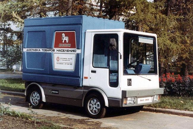 Электромобиль ВАЗ-2802 Пони