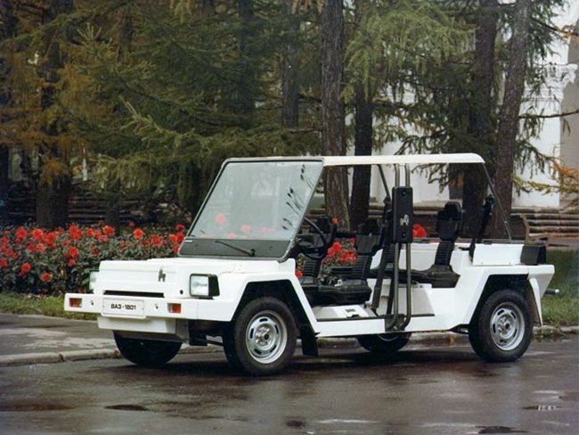 Электромобиль ВАЗ-1801 Пони