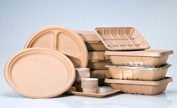 Одноразовая биоразлагаемая посуда