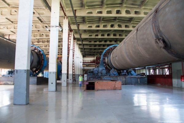 Биобарабаны мусороперерабатывающего завода в Тольятти