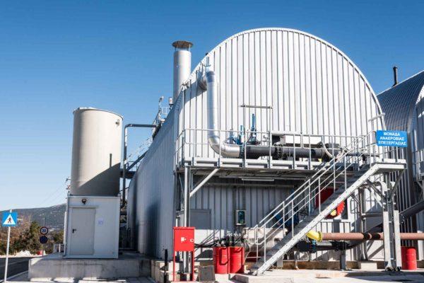 Завод по переработке отходов в Эпире